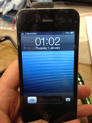 iPhone 4 display replacement after