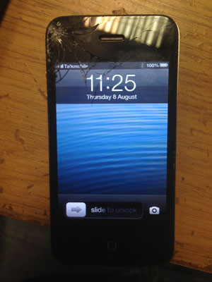 iPhone 4 display replacement before