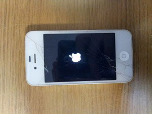 iPhone 4 screen replacement before
