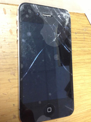 iPhone 4S front replacement before